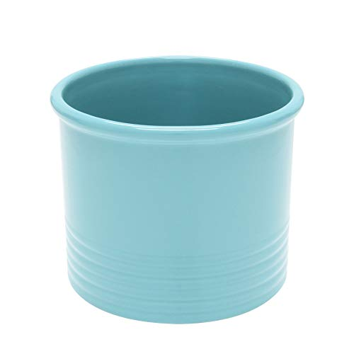 Chantal 92-19-R AQ Large Utensil Crock 675 Aqua