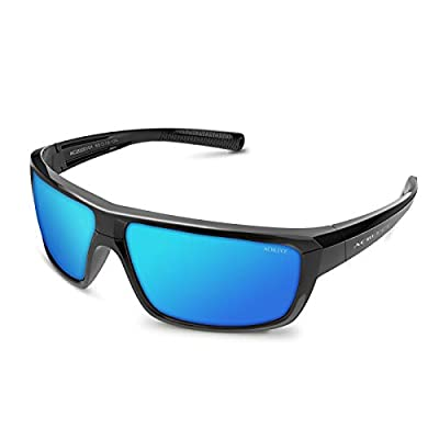 ACBLUCE Polarized Sports Sunglasses for Men Women Fishing Running Driving Cycling UV Protection