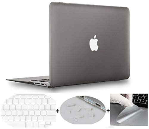 MOCA Smooth Touch Matte Hard Shell Skin Cover Case For MacBook Air...