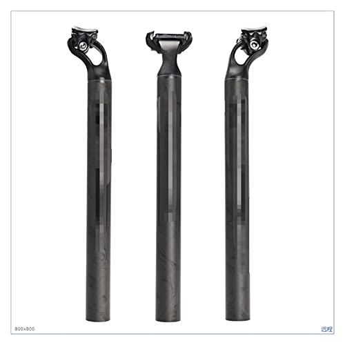 liangzai Ajuste Ultraligero de Fibra de Carbono de aleación de Aluminio Ajuste para MTB Road Bicycle Sillero de Asiento de Bicicleta Post 27.2/31.6mm Longitud 380mm Hilarity (Color : 27.2x380)