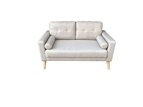 MUEBLIX.COM Sofa Celia 2 plazas - Beige