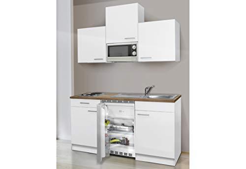 RESPEKTA - Blocco cucina ecologico 150 cm, colore: bianco
