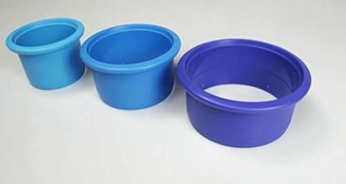 TUPPERWARE Stampini rotondo per Biscotti blu 8970