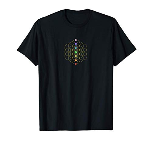 Flor de la Vida, Chakra, Geometría Sagrada, Espiritualidad Camiseta
