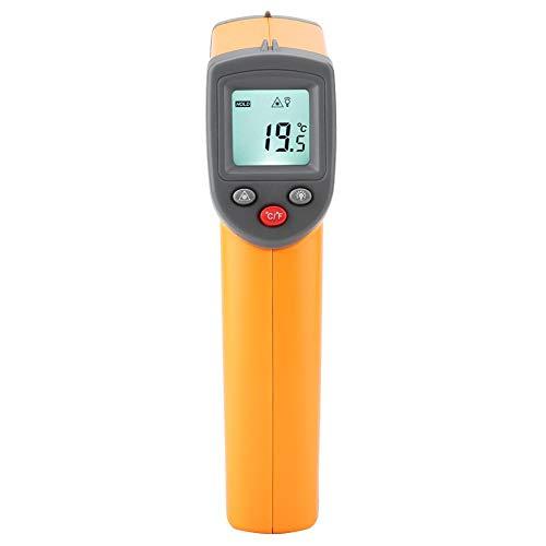 Termómetro infrarrojo, termómetro de mano seguro, sin contacto para piezas calientes del motor Tuberías de agua caliente
