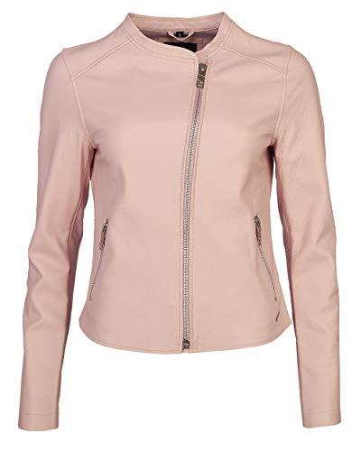Maze Damen Lederjacke Elegant Sandy Light Pink S Light pink