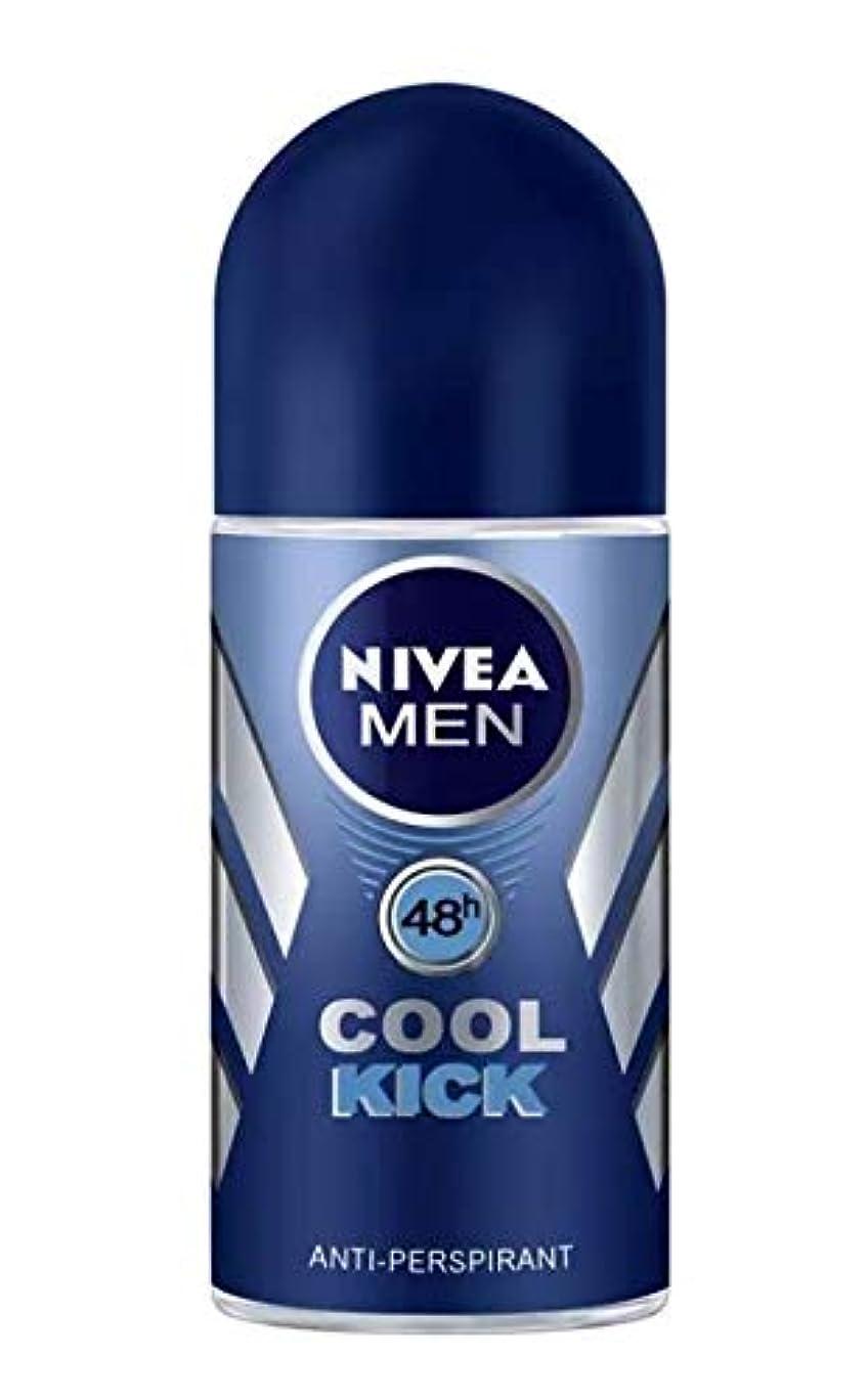 気分が良いインタビュードロップNIVEA Men ニベア メン ロールオンデオドラント Cool Kick クールキック 25ml