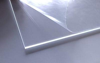 Acrylglas | transparent | glasklar | UV beständig | beidseitig foliert | im Zuschnitt | 4 mm stark