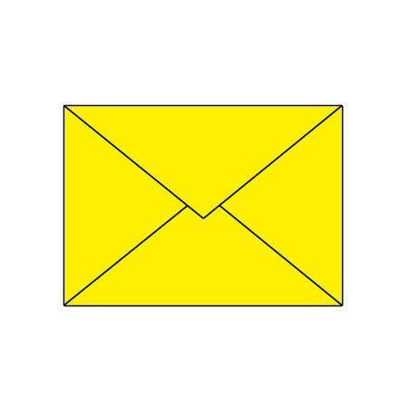 Artoz Trend 1001 Kuverts E6 (191 x 135mm) sonnengelb, Verpackungseinheit 50 Stück - Preis für 50 Stück