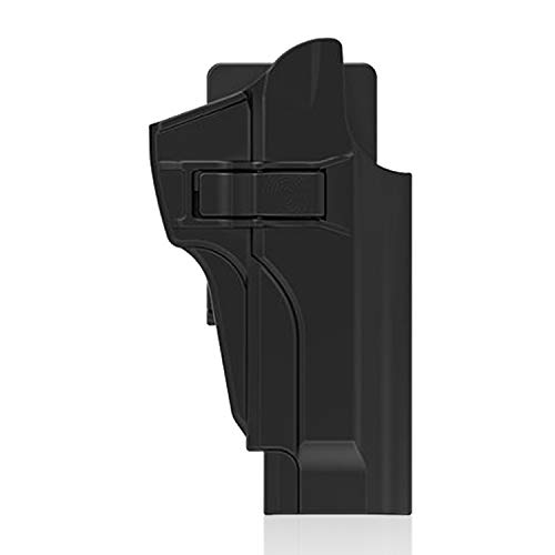 efluky Beretta Holster Pistola Molle Pistolera Airsoft Gun Holster para Beretta 92fs, 92FS INOX, M9, Chiappa M9, M9_22, Belt Clip 60°Adjustable