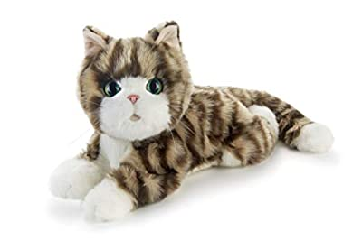 JOY FOR ALL - Silver Tabby Kitten - Interactive Companion Pets - Realistic & Lifelike