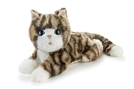 JOY FOR ALL - Silver Tabby Kitten - Interactive Companion Pets - Realistic & Lifelike
