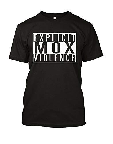MOX Jon Moxley AEW New Japan Pro Wrestlng T Shirt Explicit MOX Violence