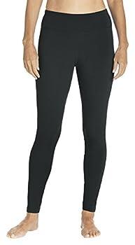 Coolibar UPF 50+ Women s Deep Water Swim Tights - Sun Protective  Medium- Black
