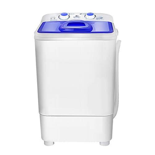 lavadora secadora Blu-ray Lavadora Capacidad De 5 Kg Antibacteriano, Elución Integrado Con El Medio Ambiente Lavadora Doméstica Plástico, Pequeña Sola Cuba De La Máquina Lavadora Mini 260W lavadoras b