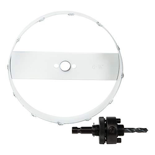 CRAFTSMAN Recessed Lighting Installation Kit, 6-3/8-Inch (CMAH36RL)