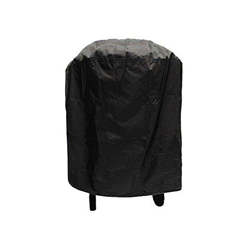 Meijunter 77x58cm Noir BBQ Couverture Bâche de Protection Housse Barbecue Imperméable Anti Poussière Anti-UV pour Jardin extérieur terrasse