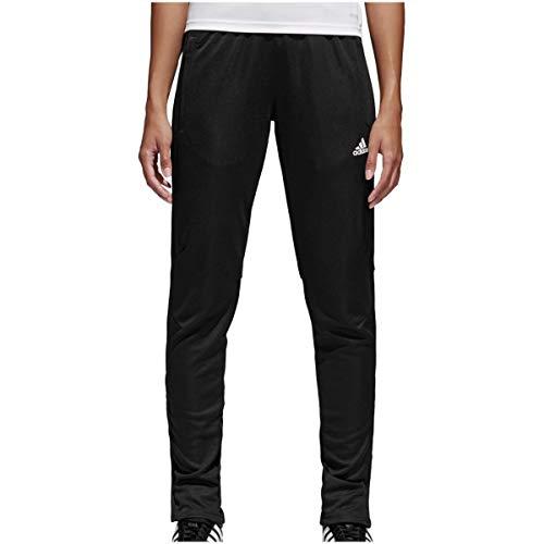 adidas Tiro17 Pants Pantalón, Mujer, Negro (Blanco), XL