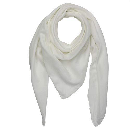 Superfreak Baumwolltuch - weiß - quadratisches Tuch