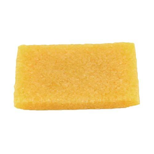 NO BRAND 1pcs accesorios de cuero hechos a mano de la hoja de goma natural para zapatos de cuero limpieza superficial descontaminación de película a película, 5x7x1