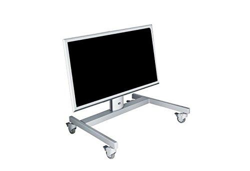 PL031015-P0, Halterung, mobil, schwarz, für Monitore bis 50kg, neigbar -30°