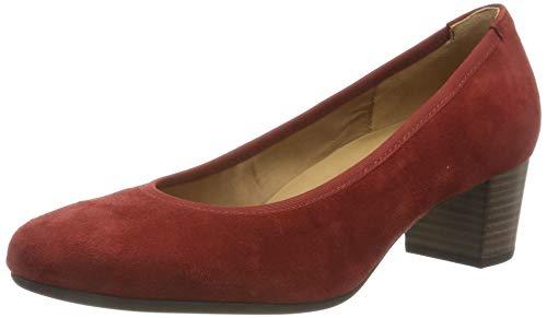 Gabor Shoes Fashion, Scarpe con Tacco Donna, Rosso (Fox 11), 38.5 EU