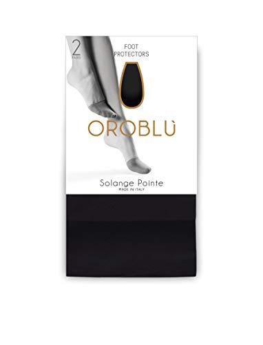 Oroblu Zehlinge Solange Pointe - Spitzenschoner - Zehenschutz, 2 Paar (One Size, Nude Look/Skin)