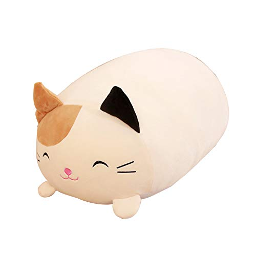 Kpop Space Lying Pig Cat Animal Plush Stuffed Doll Toy Cushion Throw Pillow 30cm Plush Toys(H03)