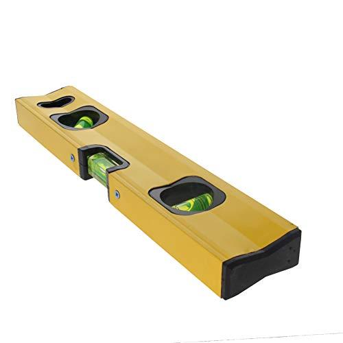 Utoolmart 30cm Magnetic Box Level Torpedo Level,3 Different Bubbles/45°/90°/180°Measuring Shock Resistant Torpedo Level 1pcs