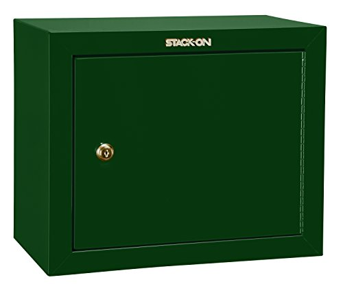 Stack-On GCG-900 Steel Pistol/Ammo Cabinet, Green