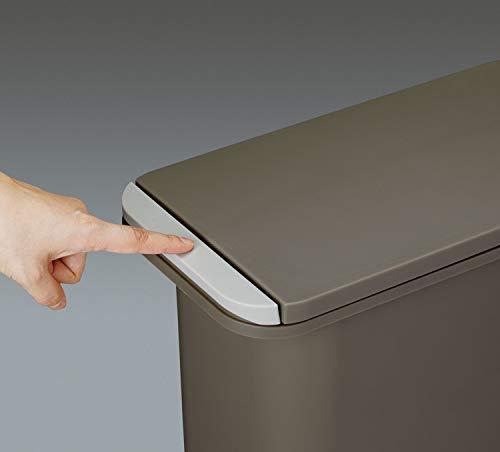リスゴミ箱中フタ付き開けても防臭ペール20SNホワイト21LH&H日本製
