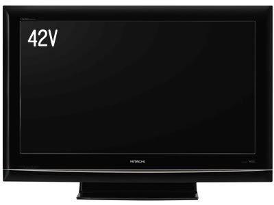 日立 42V型 液晶 テレビ P42-HR02 ハイビジョン 2008年モデル