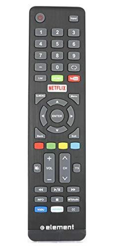 Element Remote Control for Element Smart TVs E4SFT5517 E4SW5518 E4SFT5017 New