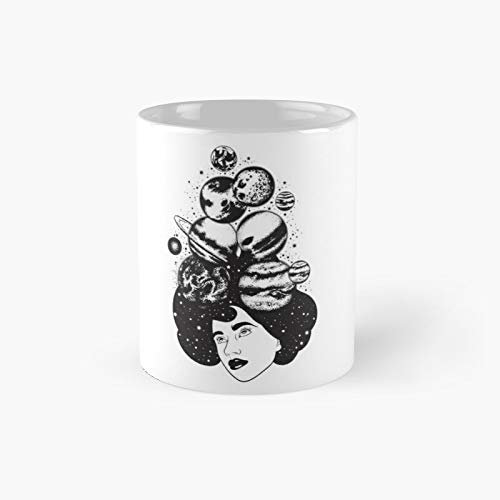 Planet Girl Classic Mug - Unique Gift Ideas For Her From Daughter Or Son Cool Novelty Cups 11 Oz.