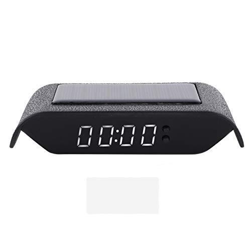 Coche Reloj Digital Auto Camión Energía solar Hora Fecha T