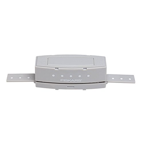Fiskars Cartucho Perforador para Perforadora de bordes, Motivo de Puntos, Gris, 1024419