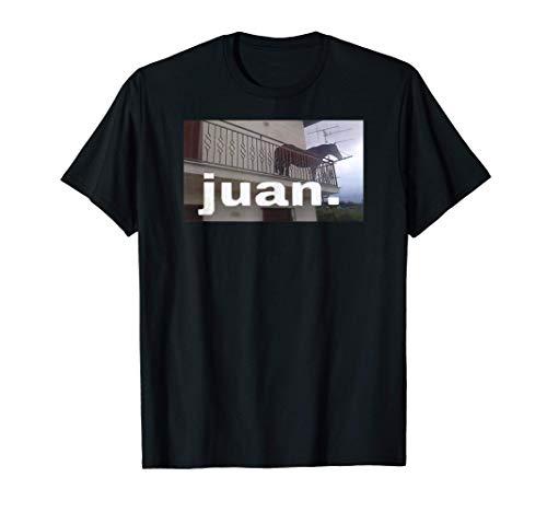Mens Juan Horse Meme on Balcony T-Shirt