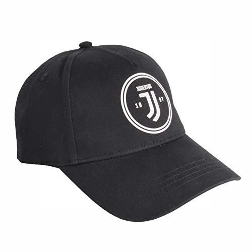 JUVIR|#JUVENTUS FC Baseballkappe für Herren, Baseballkappe für Herren, Schwarz, L