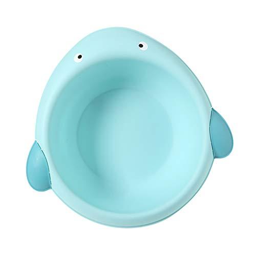 perfeclan Baby Waschschale Waschschüssel Waschwanne aus Kunststoff - blau, Wal