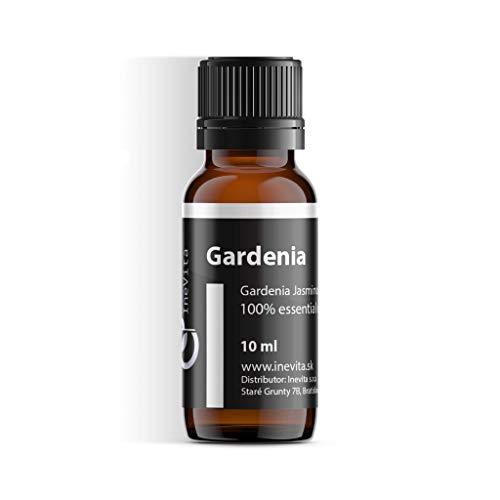 Gardenie 100% ätherisches Öl von Inevita | 10 ml | Lösungsmittelextraktionvon Blumen Gardenia Jasminoides | Frisch & Rein | Herkunft Indien