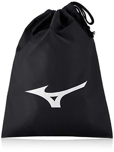 Mizuno J1GZ1804 Shoe Bag (L) Drawstring Bag , black