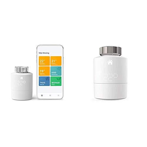 tado° Smartes Heizkörper-Thermostat Starter Kit V3+ - Intelligente Heizungssteuerung, Einfach selbst zu installieren & Smartes Heizkörper-Thermostat - Zusatzprodukt für Einzelraumsteuerung