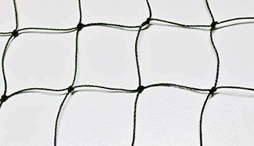 Geflügelnetz Geflügelzaun Weidezaun - oliv grün - Masche 5 cm - Stärke: 1,2 mm - Höhe: 1,20 m Meterware