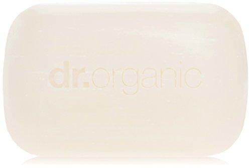 Dr Organic - Jabón Manuka Honey, 1 unidad 100 gr