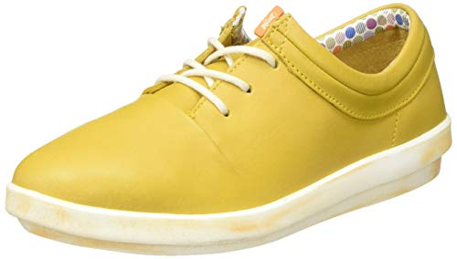 Softinos Damen CASY561SOF Sneaker, Gelb (Yellow 006), 40 EU
