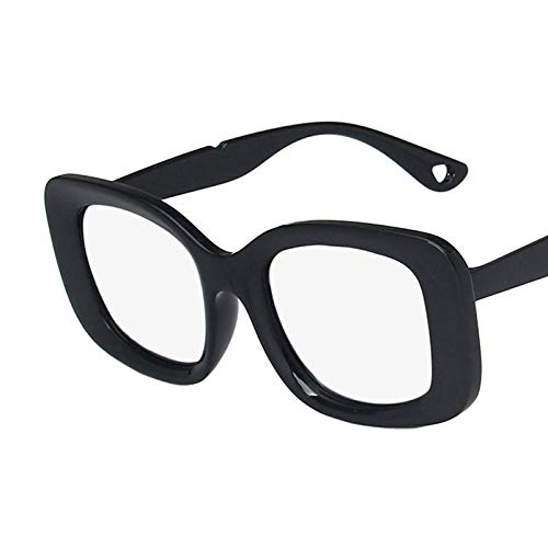 NJJX Gafas De Sol Cuadradas Grandes De Lujo A La Moda Gafas De Sol Para Mujer Gafas De Sol Clásicas Vintage Para Exteriores C4Silver