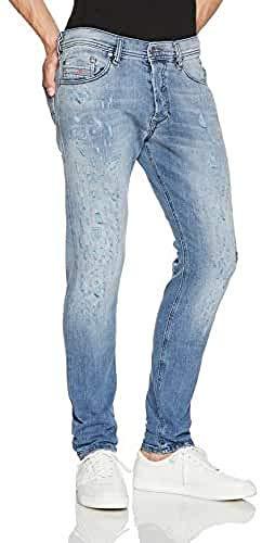 Diesel Tepphar Trousers Jeans Slim, Blu (Blu), 32W x 32L Uomo
