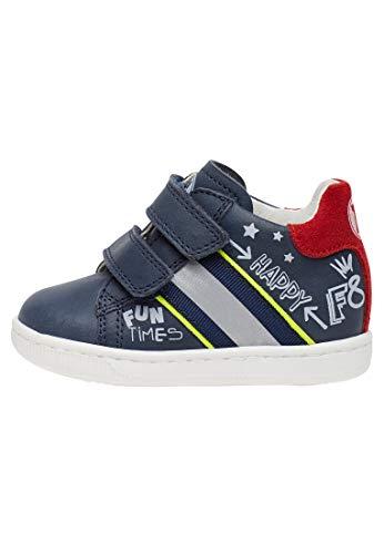 Falcotto Atley VL-Sneaker mit Prints-Navy-Rot blau 24