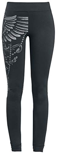 Gothicana by EMP Built for Comfort Frauen Leggings schwarz XL