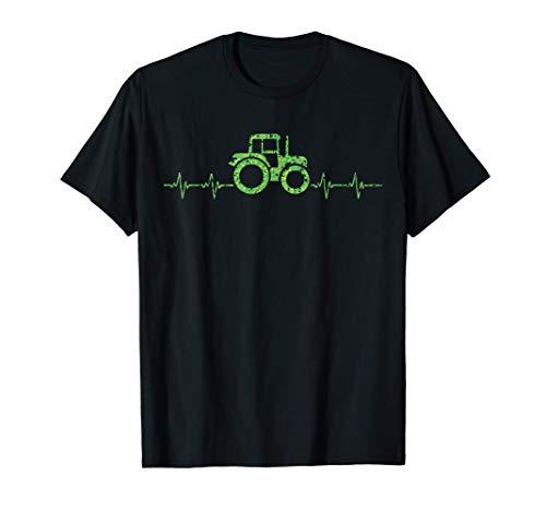 Tractor Granjero Papá Trabajador Diseño para Granjeros Camiseta